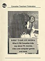 Banner: Kids' Take on Media