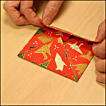 Photograph A showing step 9 of how to make an origami box